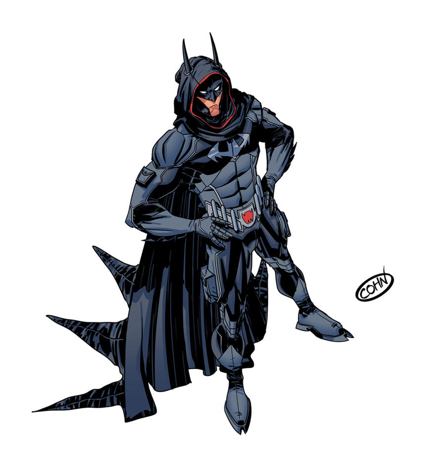 Damian Wayne Batman 2036 by ScottCohn