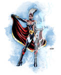 Amalgam Storm Wonder Woman Amazon Redesign