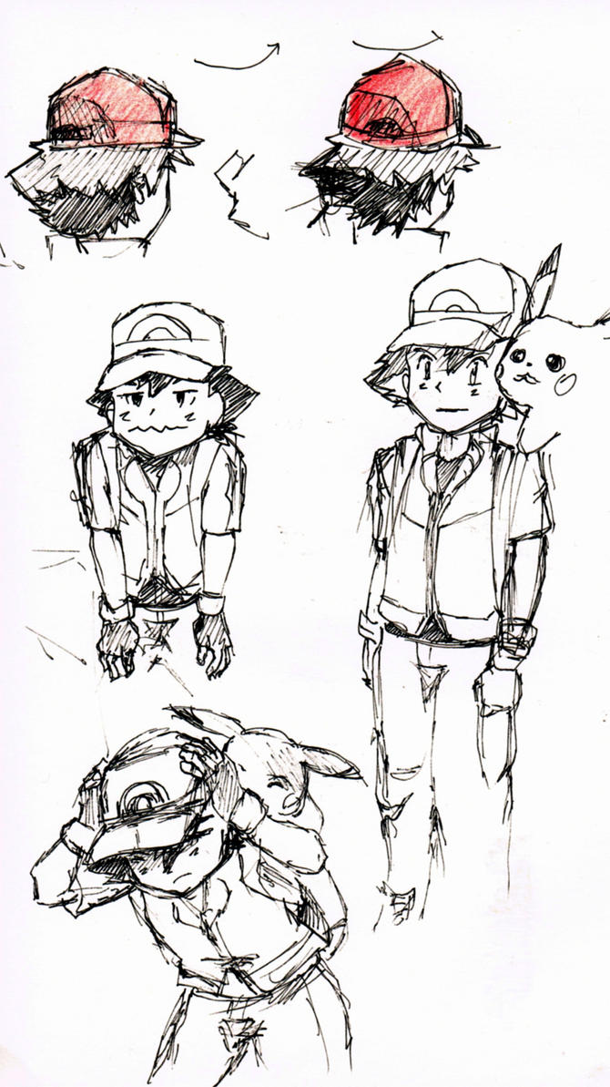 Ash Quick Sketches by Ex-Soldier-Cloud
