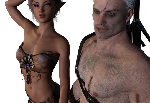 T'Psie and a witcher