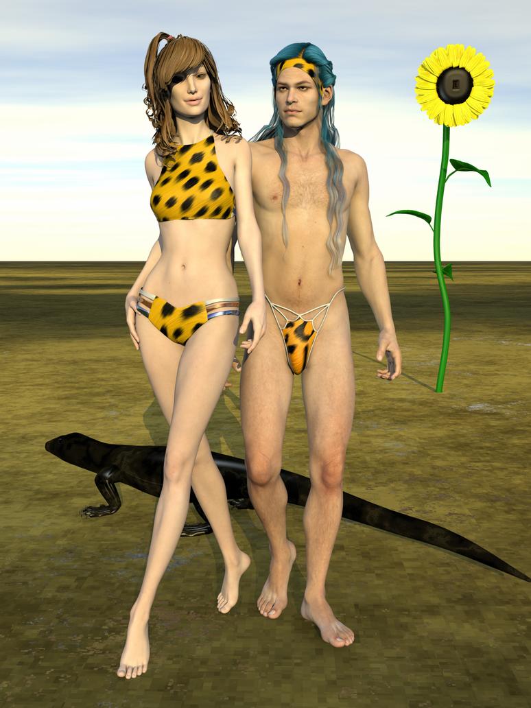 David And Arabella by Realmgal