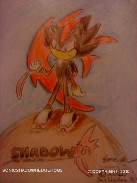 Shadow The Hedgehog and Sword by SonicShadowHedgehog3 on ...