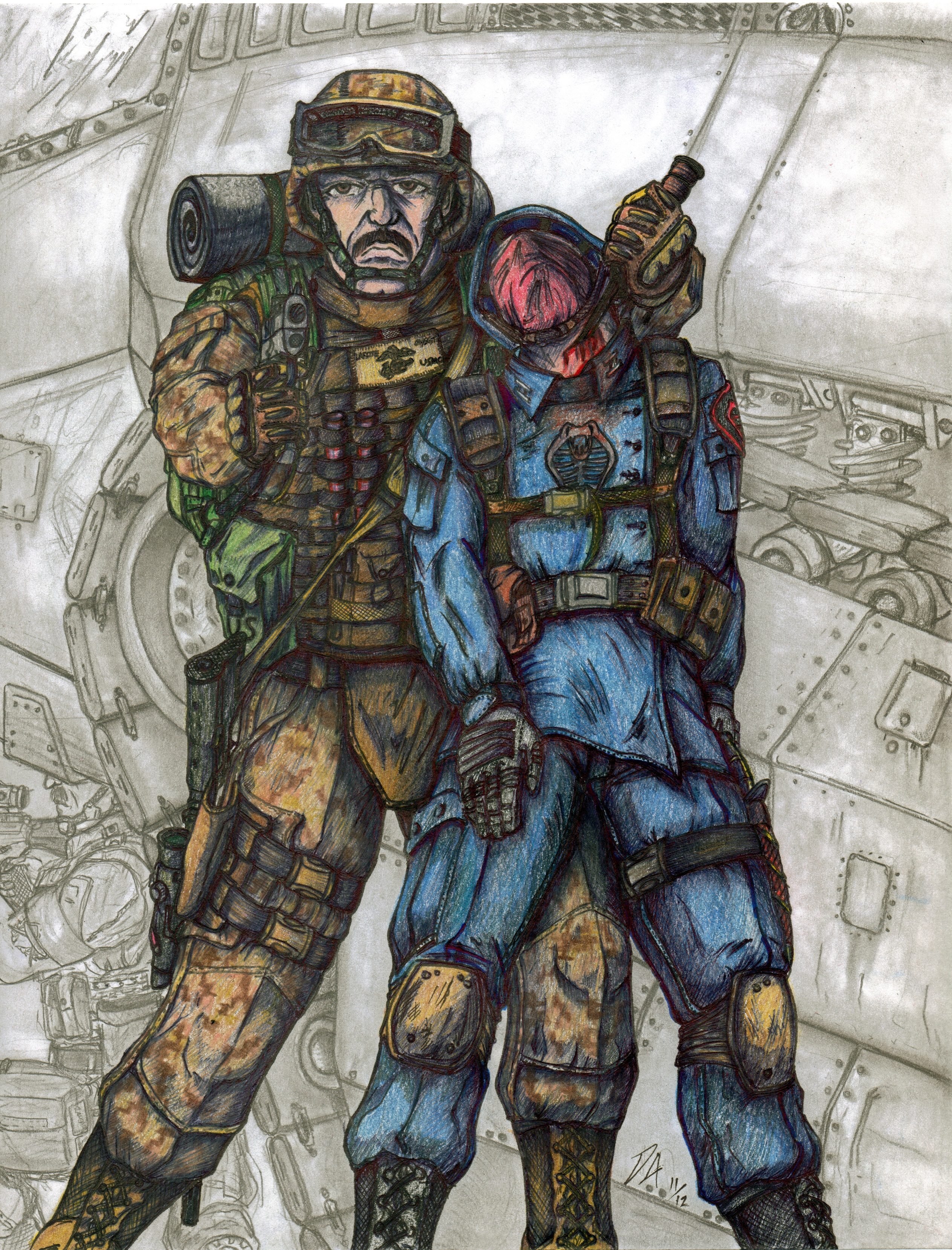 G.I. Joe Gung-Ho by Derk212