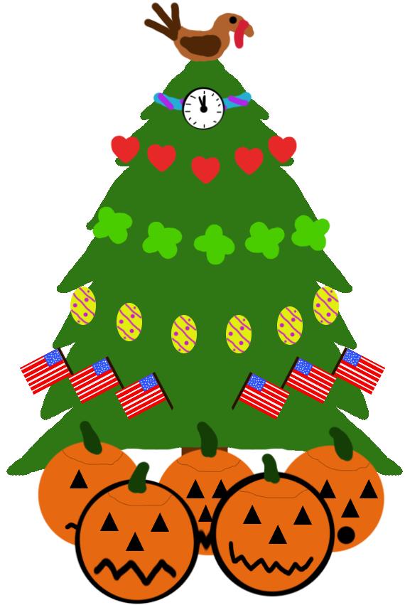 Holiday Tree by srebak