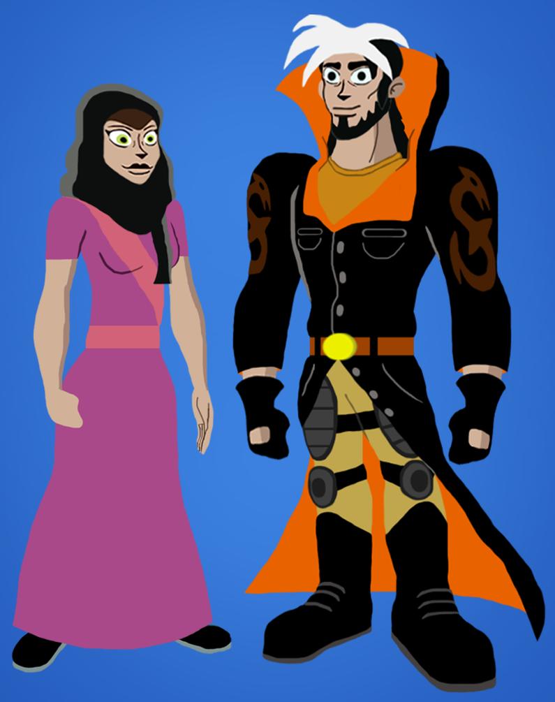 Zak and Wadi's future by srebak