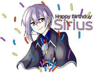[HAPPY BIRTHDAY SIRIUS]