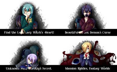 [SPOILERS] Witch's Heart Scenarios