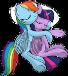 Twidash cuddling