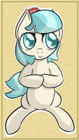 Coco Pommel wants to tell you something