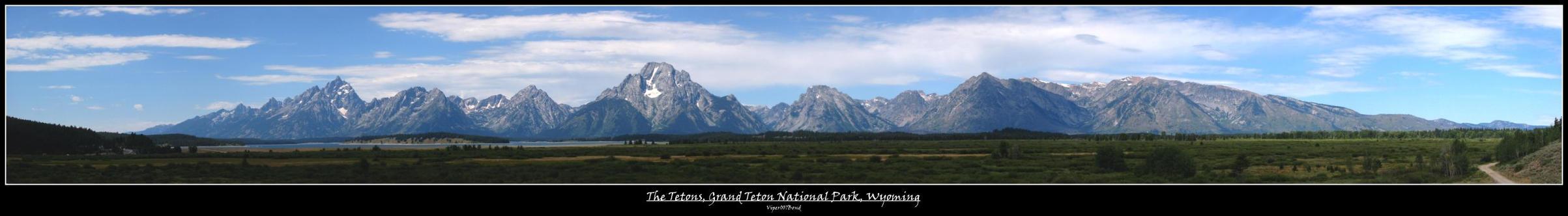 The Tetons by viper007bond