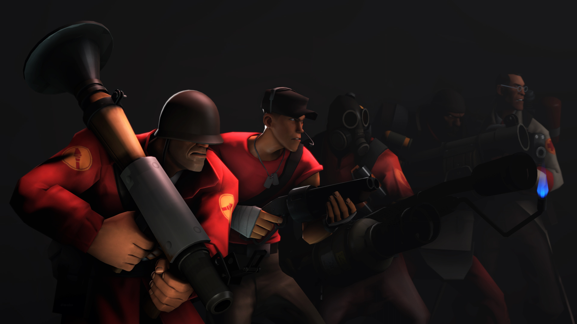 team fortress 2 wallpaper by diwako on deviantart