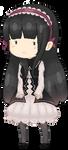 Stella pixel page doll by kirinasan