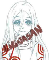 Shiro sketch by kirinasan