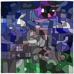dA Coloring challenge - Gastly! XD by kirinasan