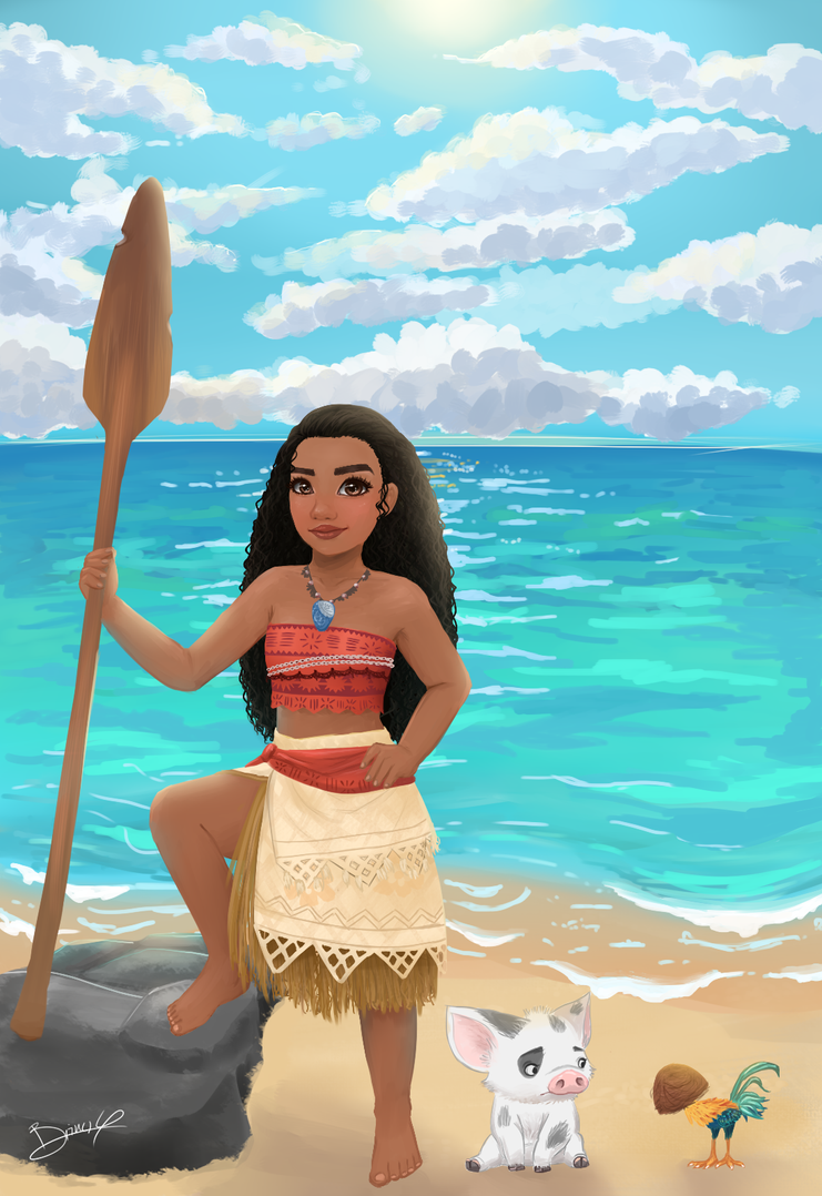 Moana by kirinasan