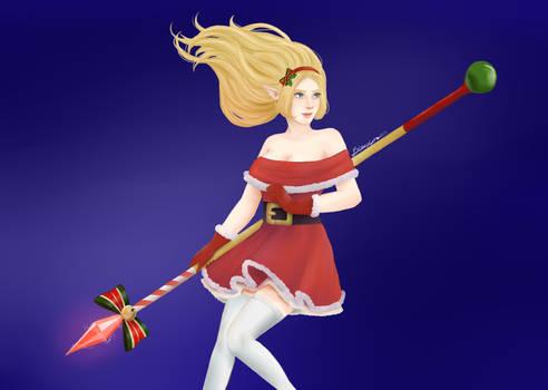 Christmas Janna - LoL