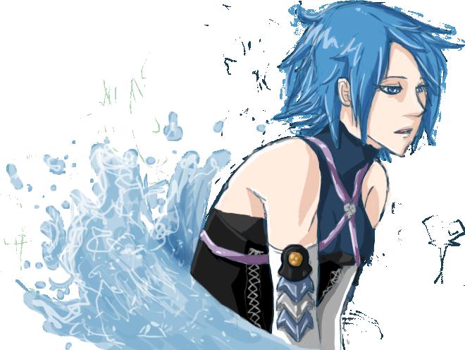 In Her Element - Aqua by Pirate-Assassin