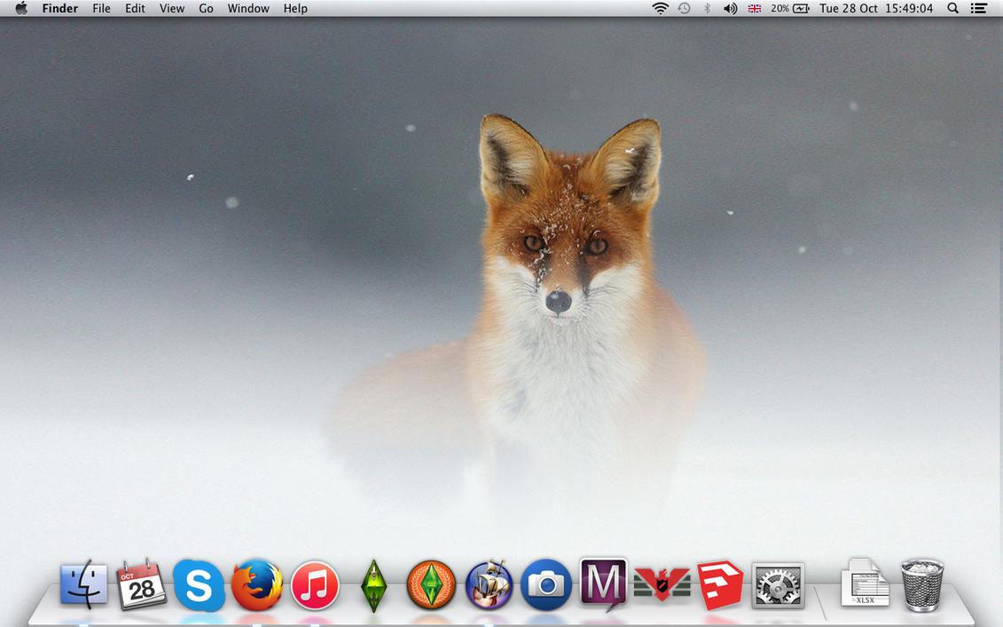 Fox Desktop by Pirate-Assassin