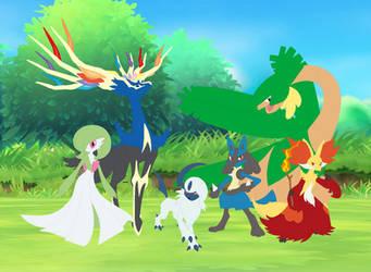 Final Pokemon X Team