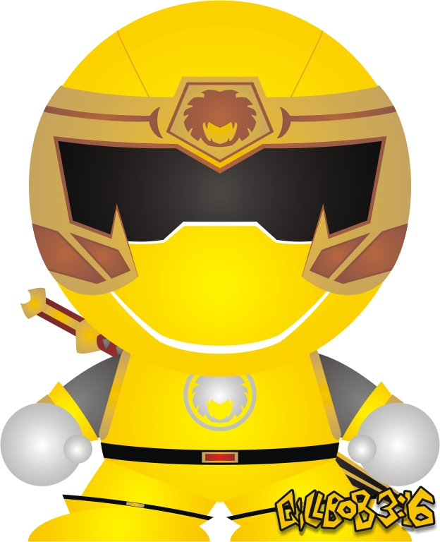 Ninja Storm Yellow By Gillbob316 On Deviantart