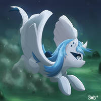 MLP Lugia by Bean-Sprouts