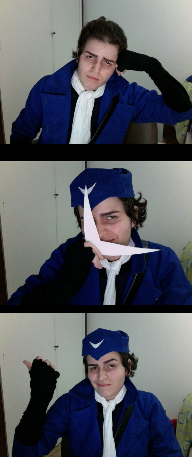 Captain Boomerang Cosplay (??) by SchizophreniacDoe