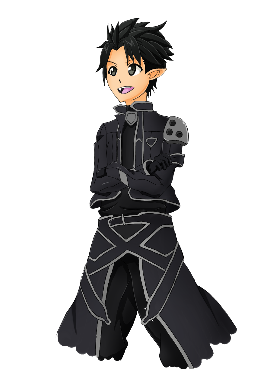 Kirito on Alfheim online by Wayken-Sama