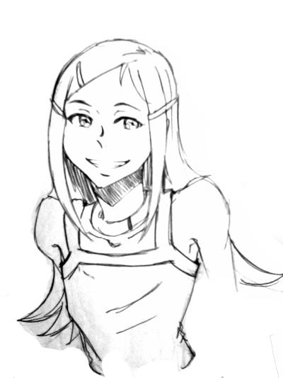 [E7] Fan Art - Anemone(smile) by Deceptikolz