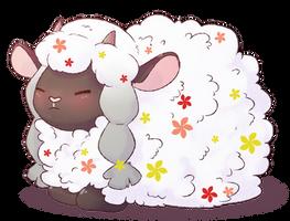 Wooloo, the cloud sheep