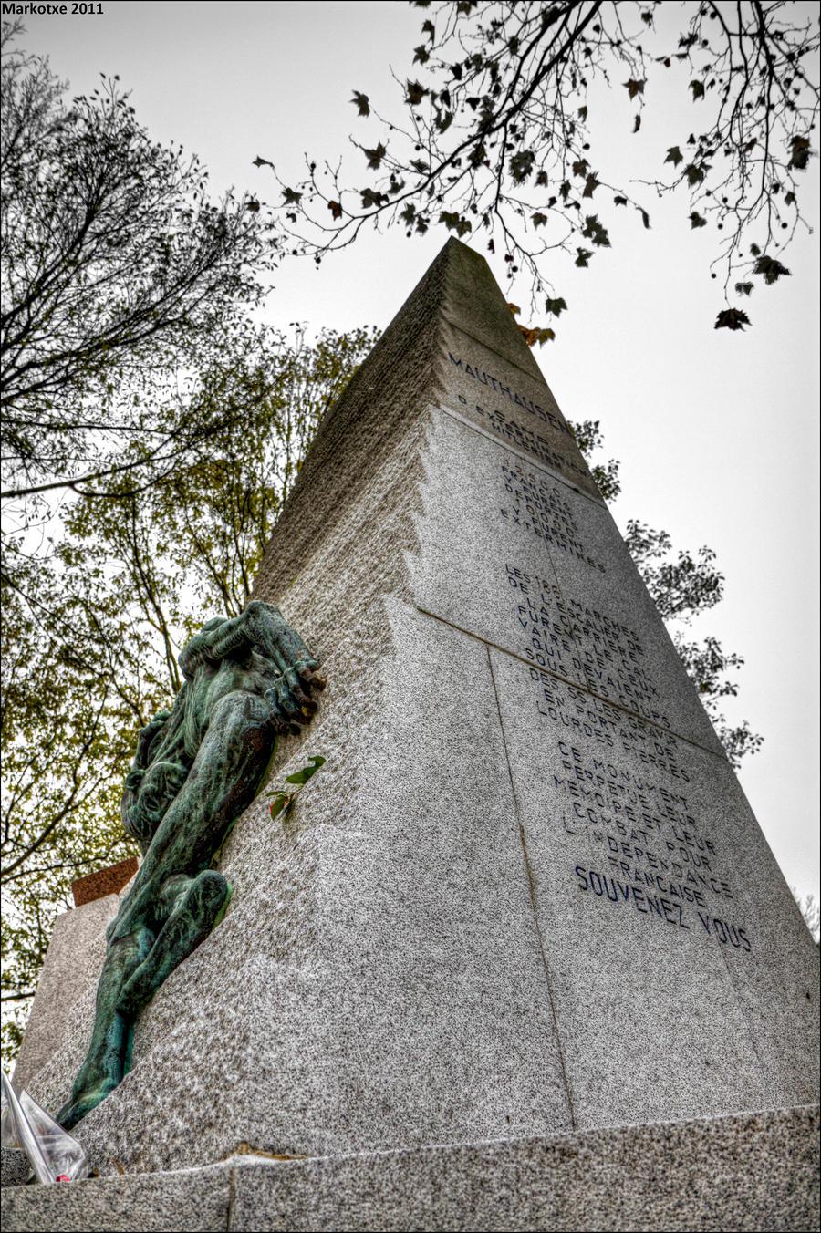 Mauthausen Denkmal by Markotxe
