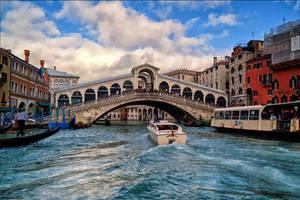 Il Ponte di Rialto by Markotxe
