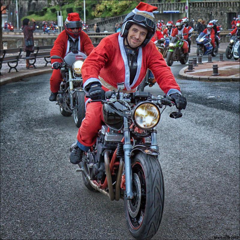 Xmas bikers IIII by Markotxe