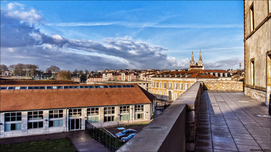 View from the university by Markotxe