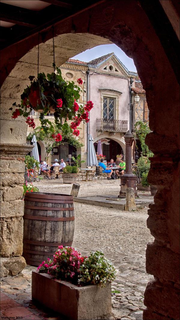 Terrasse en Armagnac by Markotxe