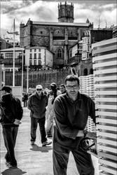 Pecheurs et promeneurs by Markotxe