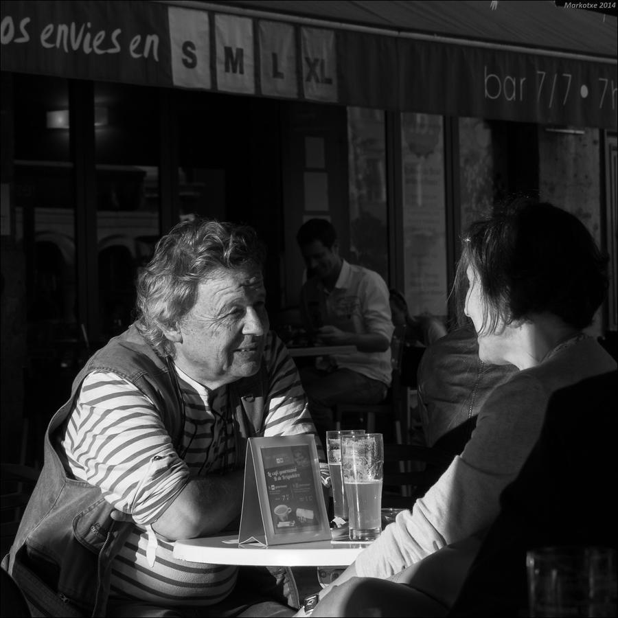 Un instant heureux by Markotxe