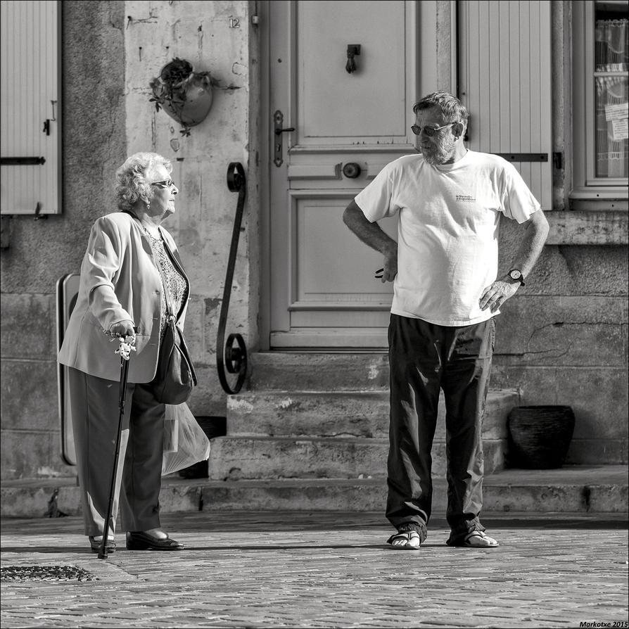 Mais oui, ma bonne dame ... by Markotxe