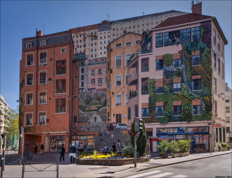Le mur des Canuts II by Markotxe