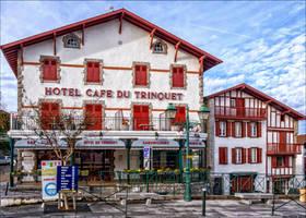 Cafe Hotel du Trinquet by Markotxe