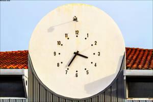 A strange clock