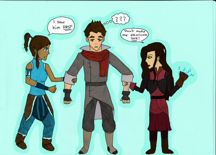 LOK Asami Mako And Korra 316038957 likewise Ty Lee Flipping 306190291 together with Airbender OC 189715305 furthermore Images also My Avatar OC 339307968. on michael dante dimartino