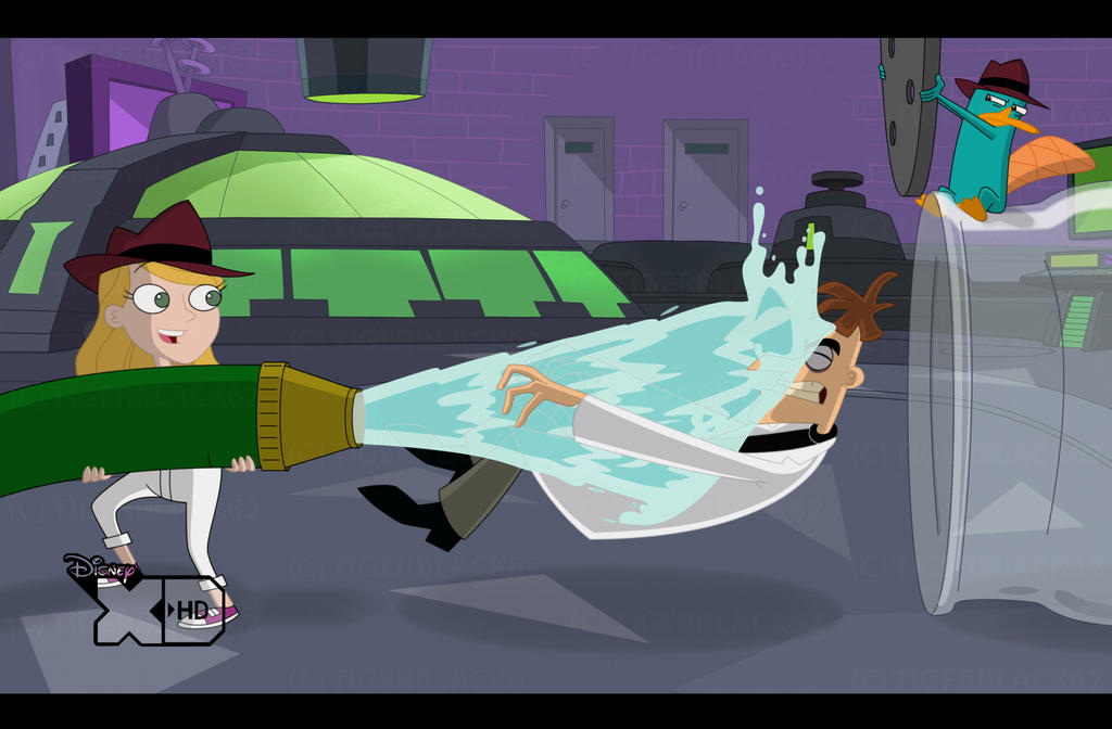 Phineas And Ferb Dr Doofenshmirtz Building C - PnF - Defeating Dr