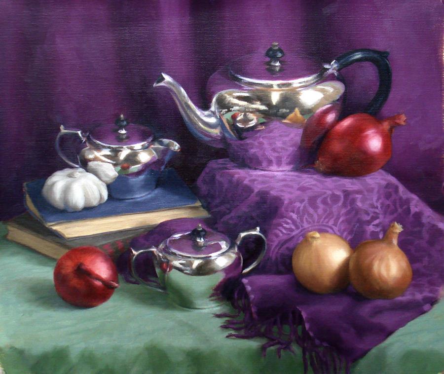 Fragrant tea - still life by purpleorb
