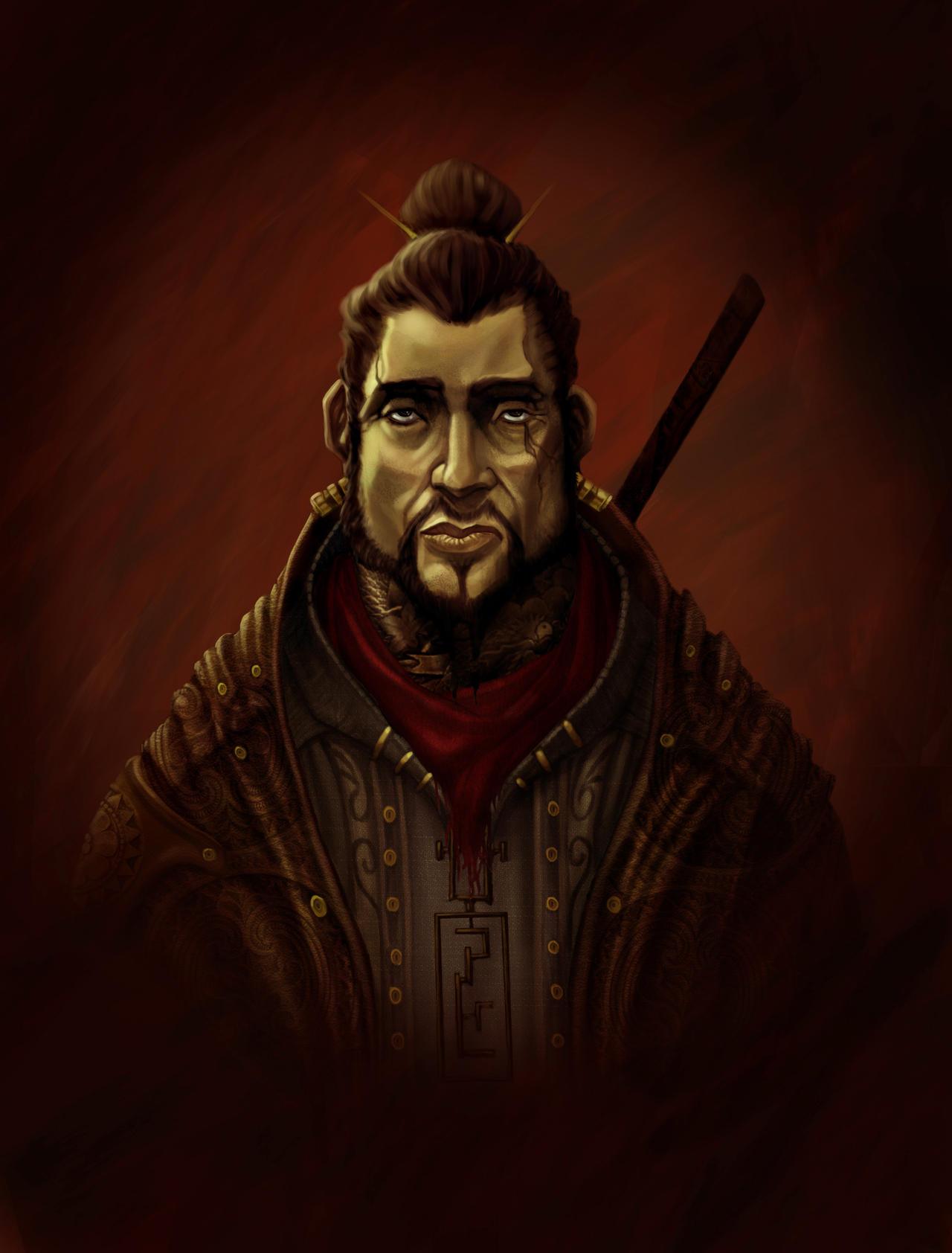 eastern warrior by BAELUS-JAN