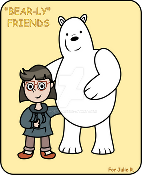 'Bearly' Friends