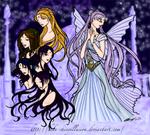 Queen Serenity's court