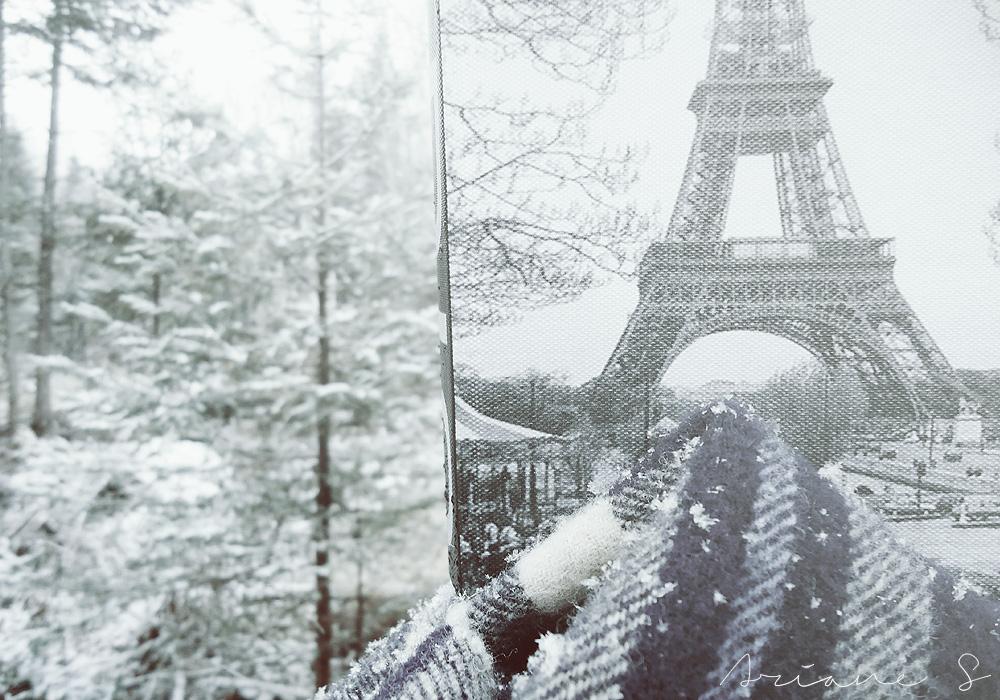 Winter In Paris Wallpaper