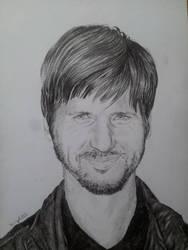Chris Cole Portrait by HenningBlom