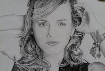 Emma Watson Portrait by HenningBlom