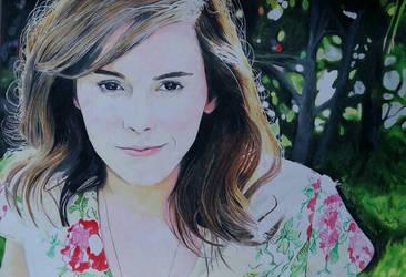 Emma Watson 2 by HenningBlom